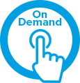 on demand icon